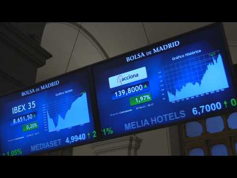 Spanish Stock Exchange gains 0.20% after opening