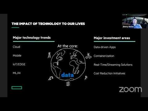 HPE Ezmeral Data Fabric - A Day in the Life of Data