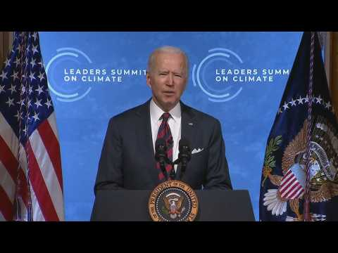 Biden: US 'isn't waiting' to address climate change