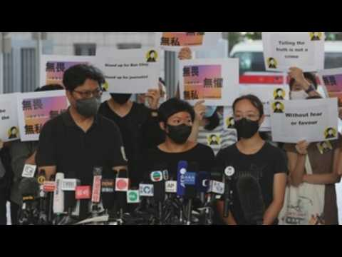 Hong Kong journalist convicted for protest-related reporting