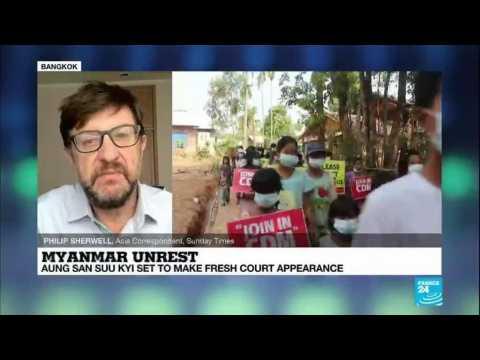 Myanmar unrest: Aung San Suu Kyi set to make fresh court appearance