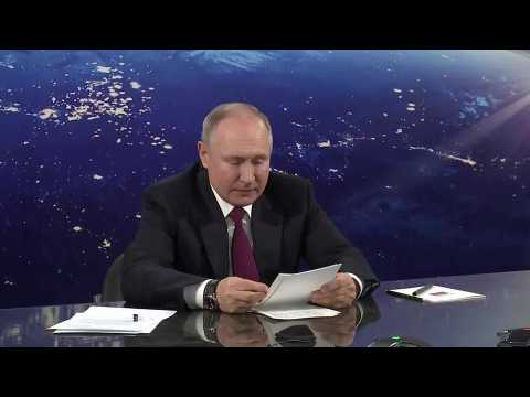 Russia must remain 'space power' in 21st century says President Putin