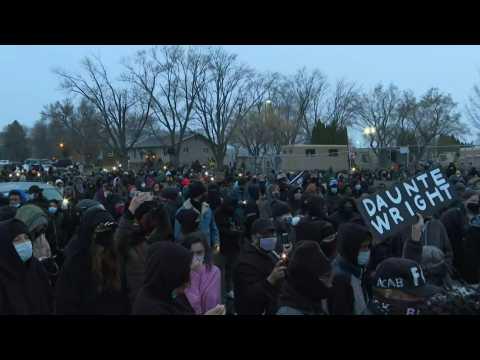 Third night of protest in Minnesota after police kill Black motorist