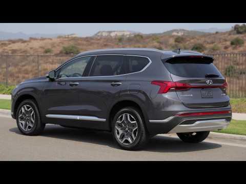 2021 Hyundai Santa Fe Hybrid Exterior Design
