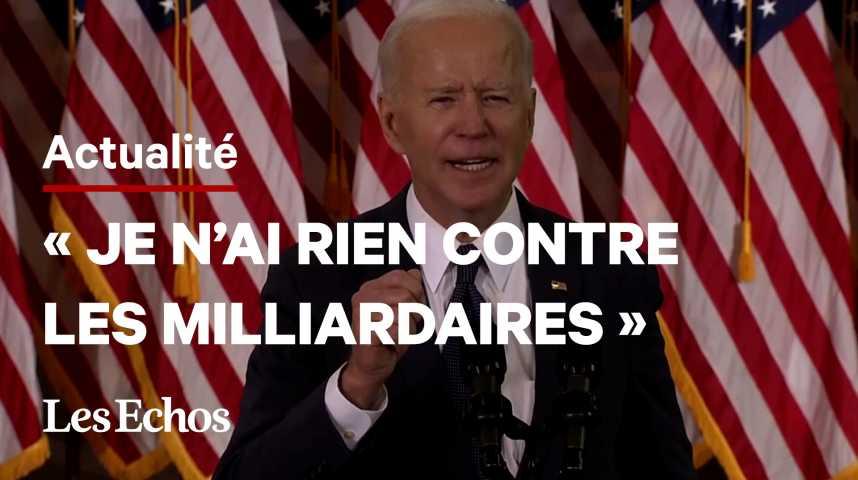 Illustration pour la vidéo Joe Biden veut taxer les entreprises pour financer les infrastructures