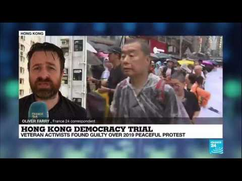 7 Hong Kong democracy leaders convicted over 2019 protests