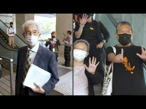 'Badge of honour': Veteran Hong Kong activists convicted over huge rally