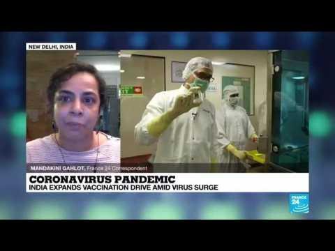 Coronavirus pandemic: India fights virus surge, steps up jabs amid export row