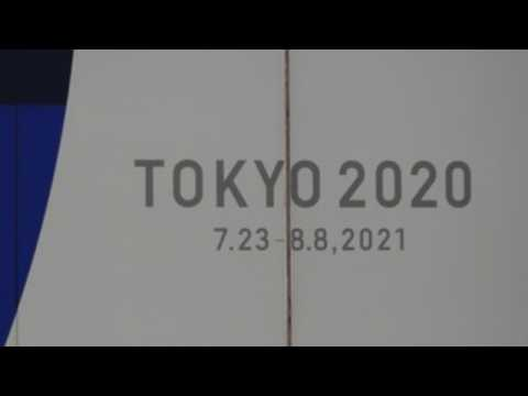 Japan begins 100 days countdown to Olympic Games