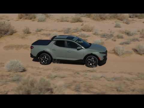 2022 Hyundai Santa Cruz Off Road driving