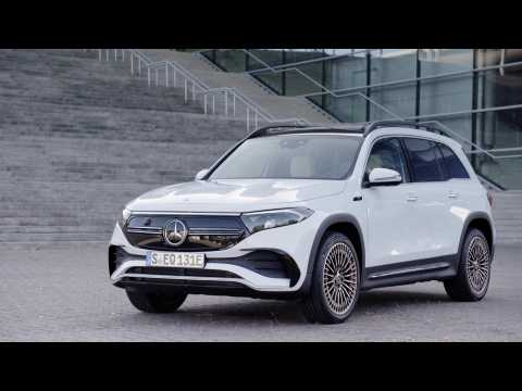 The new Mercedes-Benz EQB EDITION 1 Design