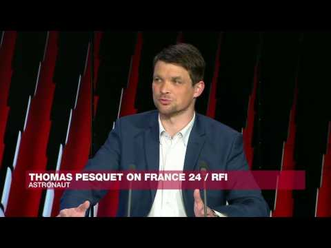 French astronaut Thomas Pesquet: 'I'm not going to lie, it's such a joy to be out there in Space'