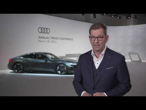 Interview Markus Duesmann on the occasion of the Audi Annual Press Conference 2021