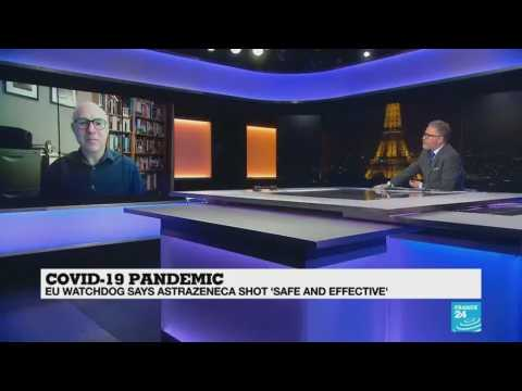 "COVID-19 PANDEMIC : EU WATCHDOG SAYS ASTRAZENECA SHOT ""SAFE AND EFFECTIVE"""