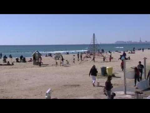 Spain residents enjoy good weather