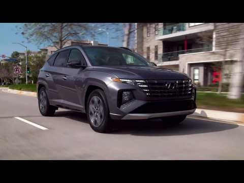 2022 Hyundai Tucson N Line Driving Video