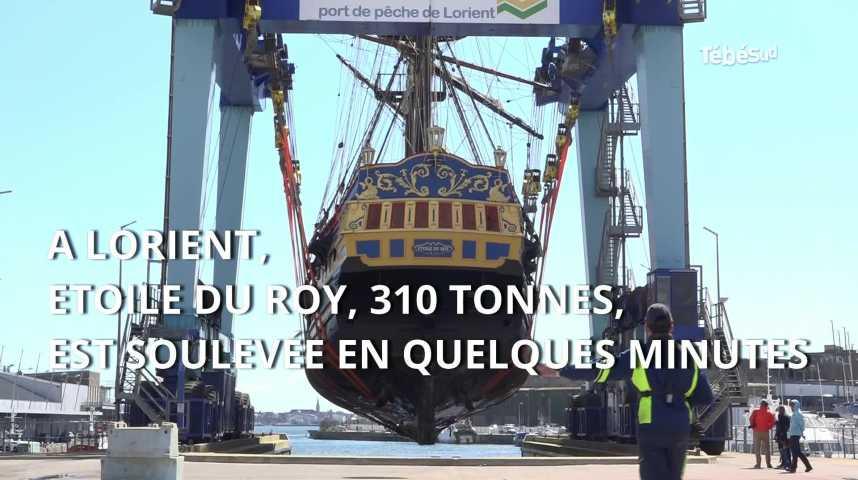 Thumbnail Lorient : escale technique pour Etoile du Roy avant un tournage en Espagne
