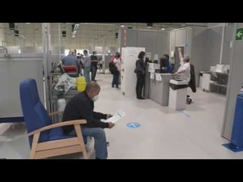 Madrid opens 10 new Covid-19 vaccination centres