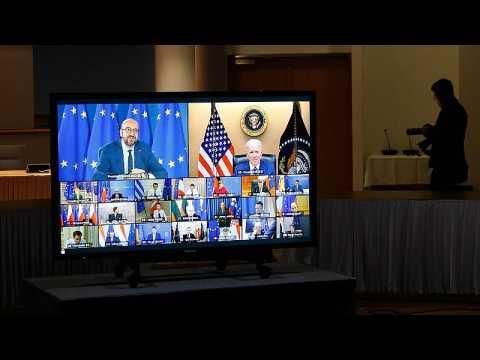 Europe's week: Leaders meet virtually, as EU and US renew their vows