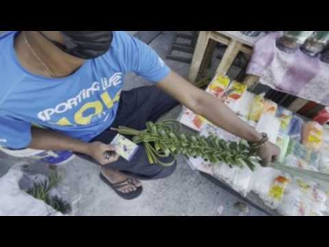 Manila prepares to celebrate Palm Sunday