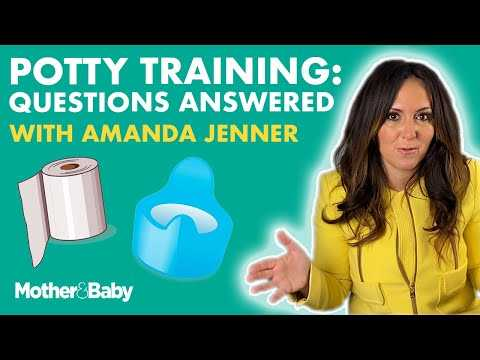 Potty training: Your questions answered | with potty training expert Amanda Jenner