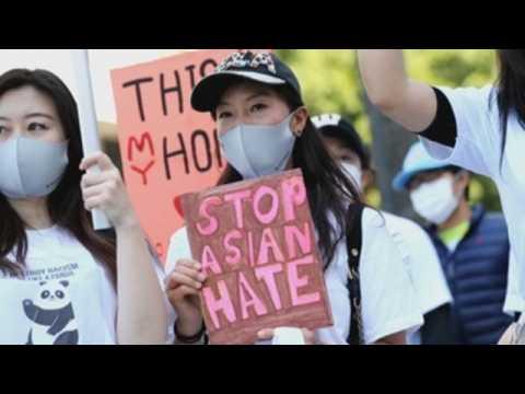 Anti-Asian hate rally held in Los Angeles