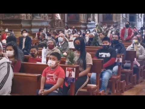 Palm Sunday celebrations in Quito amid coronavirus restrictions