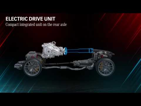 Mercedes-AMG defines the future of Driving Performance - Electric Drive Unit