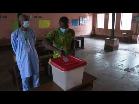 Polls open in Benin for first round of presidential election
