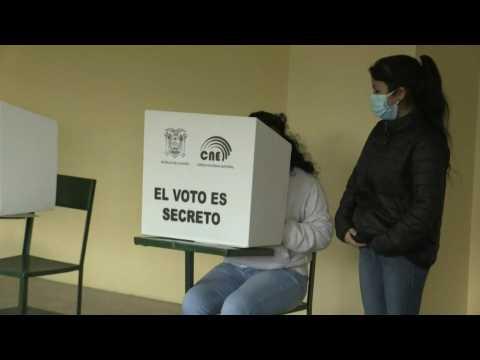 Polls open in Ecuador's presidential election