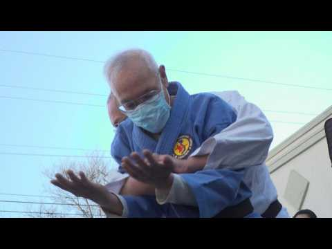 Asian Americans learn self defense in California as anti-Asian attacks on rise