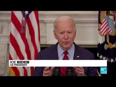 Biden calls for assault weapon ban after Colorado shooting