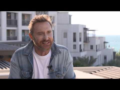David Guetta performs COVID charity concert in Dubai