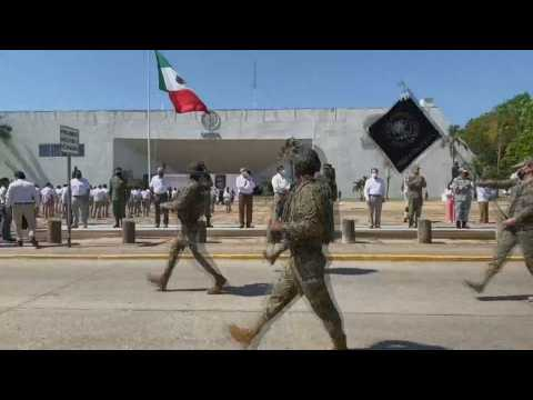 Migrants seek new routes to cross Mexico's southern border