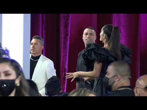 Reggaeton megastar Nicky Jam arrives at the Latin American Music Awards