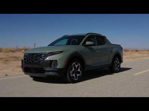 2022 Hyundai Santa Cruz Driving Video