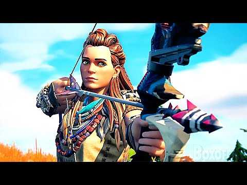 FORTNITE Aloy Gameplay Trailer (2021)