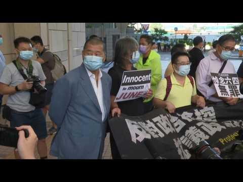 Jimmy Lai among five Hong Kong democracy activists jailed