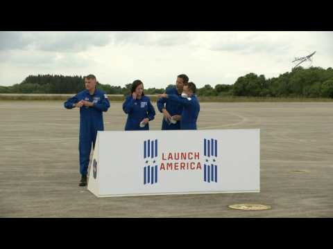 NASA's SpaceX Crew-2 mission astronauts arrive in Florida ahead of April 22 launch