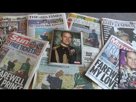 British papers pay tribute to Prince Philip