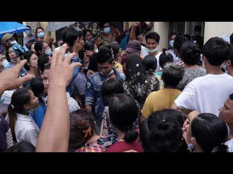Myanmar's junta releases thousands of prisoners from jail