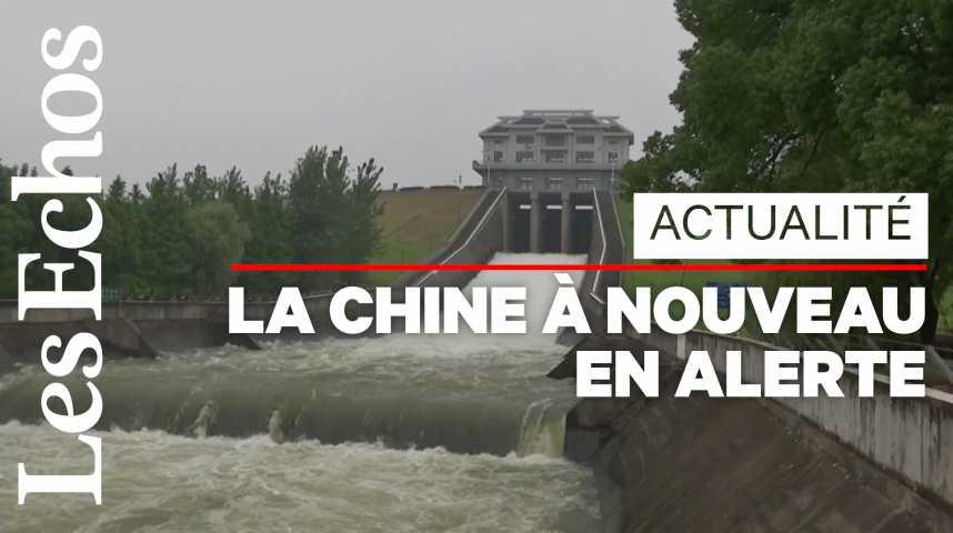 Illustration pour la vidéo Après le coronavirus, la Chine frappée par des inondations record