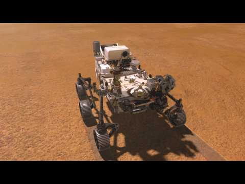 NASA's Perseverance rover to scour Mars for signs of life