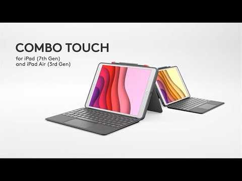 Introducing Logitech Combo Touch for iPad (7th gen) and iPad Air (3rd gen)