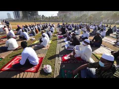 Muslims in Colombo celebrate Eid al-Adha
