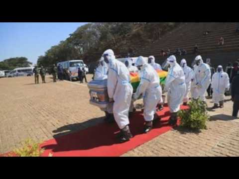 Funeral for Zimbabwe's Minister of Agriculture who died from coronavirus