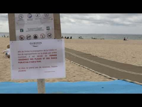 Masks, tests and beach closures: Brittany tourists under close scrutiny