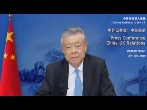China's ambassador says UK interventions have 'poisoned' relations