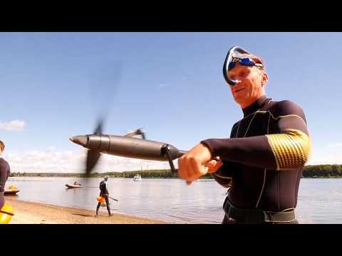 Athletes in Russia test out new device to make them swim faster
