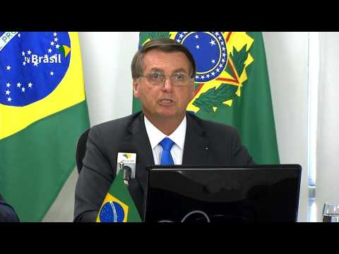 Amazon fires a 'lie' says Brazil's Bolsonaro